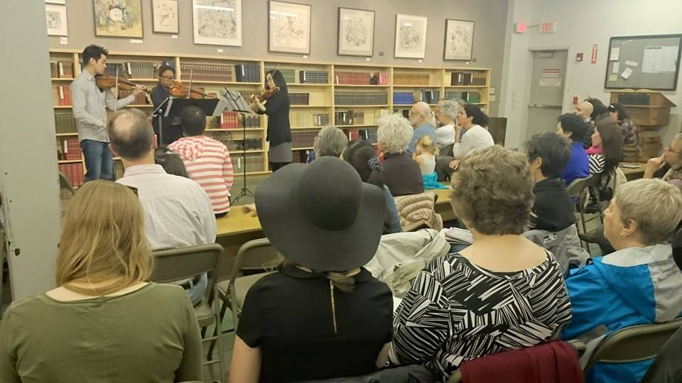 Dvorak Terzetto at Powell's